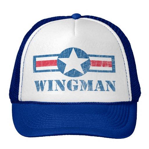 Wingman Vintage Mesh Hats