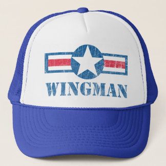 Wingman Vintage Trucker Hat