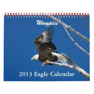 Wingpics Eagle Calendar 2013