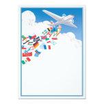 Wings © 13 cm x 18 cm invitation card