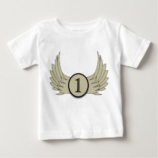 Wings (Age 1) - Baby Fine Jersey T-Shirt Baby T-Shirt