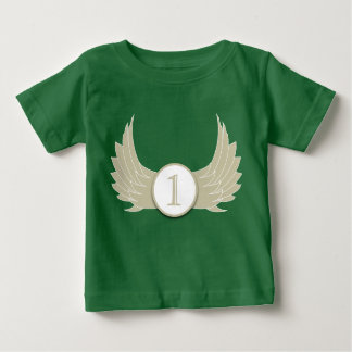 Wings (Age 1) - Baby Fine Jersey T-Shirt Tees