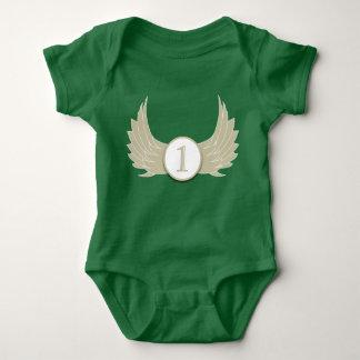 Wings (Age 1) - Baby Jersey Bodysuit Baby Bodysuit