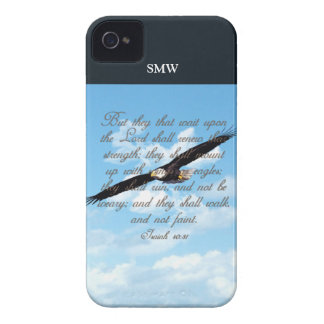 Wings as Eagles Isaiah 40 31 Christian Bible Blackberry Bold Covers