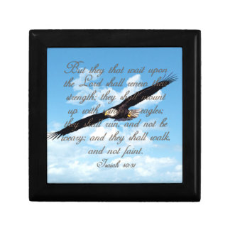 Wings as Eagles, Isaiah 40:31 Christian Bible Gift Box
