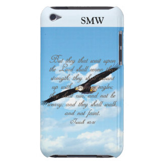 Wings as Eagles, Isaiah 40:31 Christian Bible iPod Touch Cases