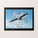 Wings as Eagles, Isaiah 40:31 Christian Bible Puzzles