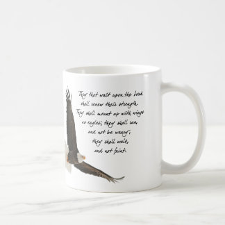 Wings As Eagles Isaiah 4o:31 Coffee Mug
