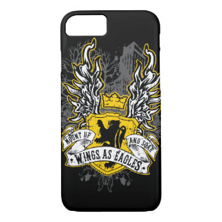 Wings As Eagles - Uban Black iPhone 7 Case