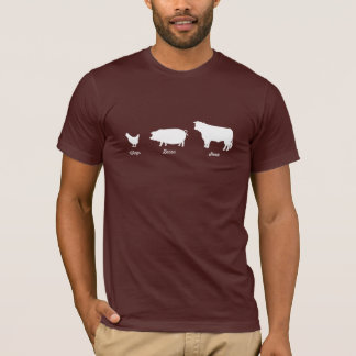 Wings Bacon Steak T-shirt