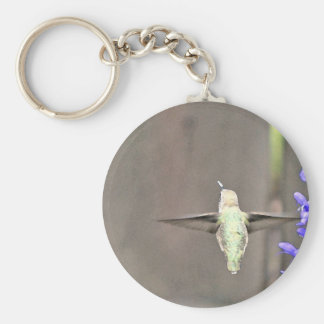 Wings III Basic Round Button Key Ring