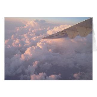 Wings In Clouds Card