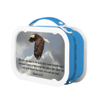 WINGS LIKE EAGLES LUNCH BOXES