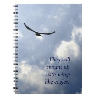 Wings Like Eagles Notebook