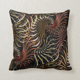 Wings - Modern - Abstract - brown Cushion