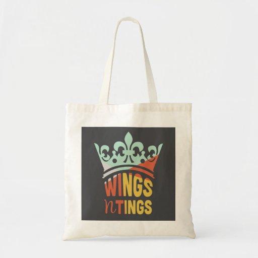 Wings n Tings Tote Bag Bags