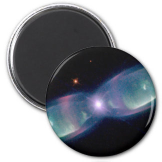 Wings of a butterfly nebula magnets