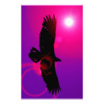 Wings of Eagle Personalized Stationery