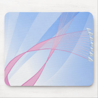 Wings of Hope Pink Ribbon Mousepads