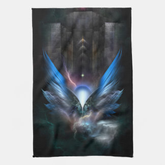 Wings Of Light Kitchen Towel
