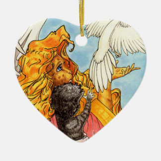 Wings of Love Christmas Ornament