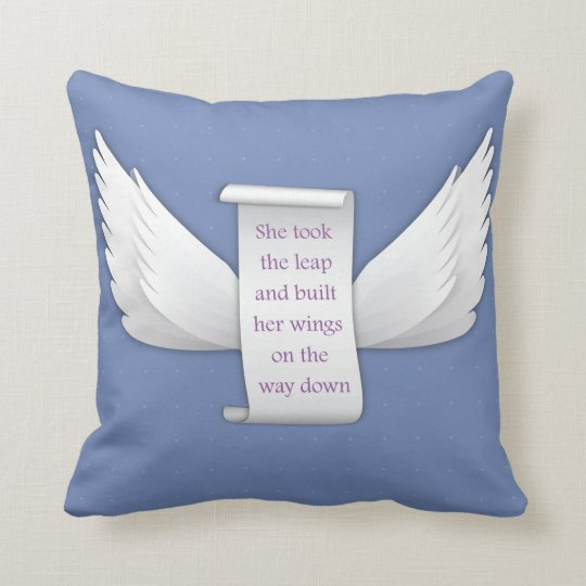 Wings of Love Cushion