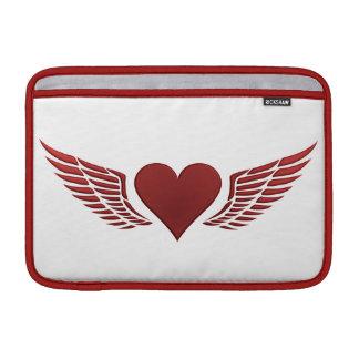 Wings of Love custom iPad / laptop sleeve