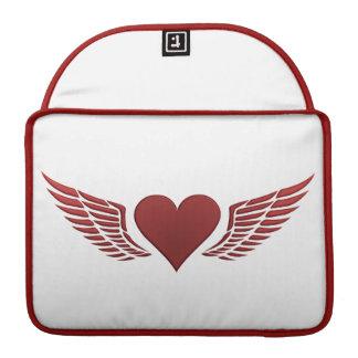 Wings of Love custom Macbook sleeve