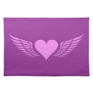 Wings of Love custom placemat