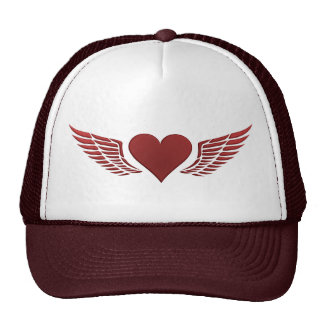 Wings of Love hat, customize Cap
