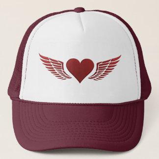 Wings of Love hat, customize Trucker Hat