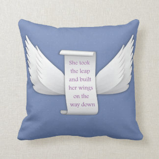 Wings of Love | Throw Pillow