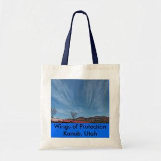 Wings of ProtectionKanab, Utah Budget Tote Bag