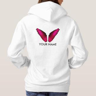 Wings of Rosa Butterfly Hoodie