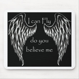 wings on me mouse pads