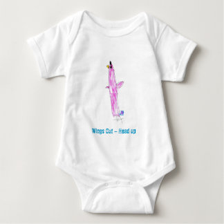 Wings Out - Head UP Baby Bodysuit
