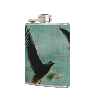 Wings over the World Hip Flask