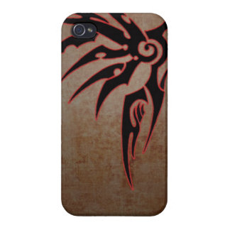 wings tribal cool awesome tattoo art fan iPhone 4/4S case