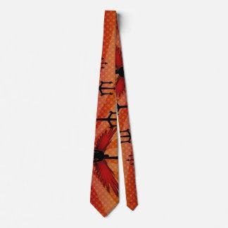 Wings & Tridents Tie
