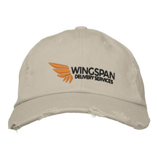 WINGSPAN Logo Rugged Cap Embroidered Hats