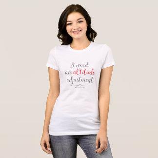 WingWords - I Need An Altitude Adjustment T-Shirt