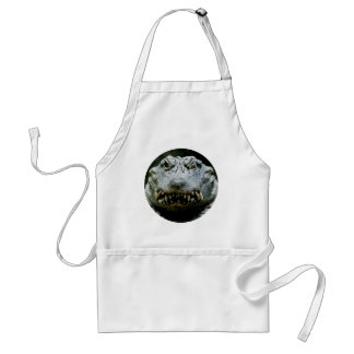Wink and a Smile (Chinese Alligator) Aprons
