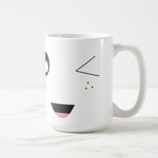 Wink Basic White Mug
