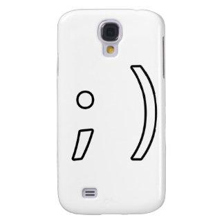 Wink face galaxy s4 case