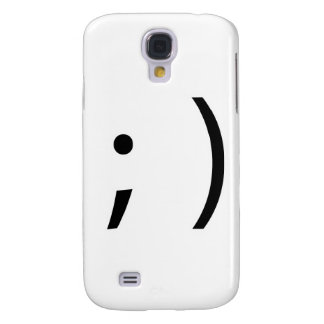 wink face! samsung galaxy s4 cover
