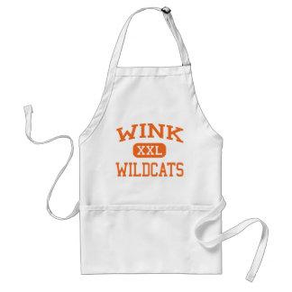 Wink - Wildcats - Wink High School - Wink Texas Adult Apron