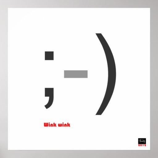 Wink Wink 1 Poster