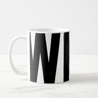 WINK word mug