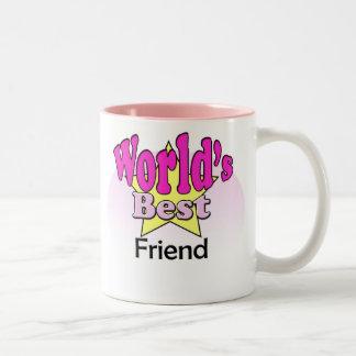 Wink World's best Friend Two-Tone Mug