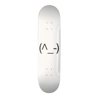 winker 2.ai 18.1 cm old school skateboard deck